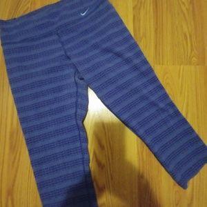 ca169749d Nike Pants | Drifit Legend Zig Dot 34 Capri Sz S | Poshmark